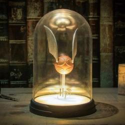 Lampe Vif d'Or sous cloche